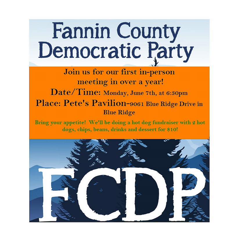 FCDP June Meeting-IN PERSON