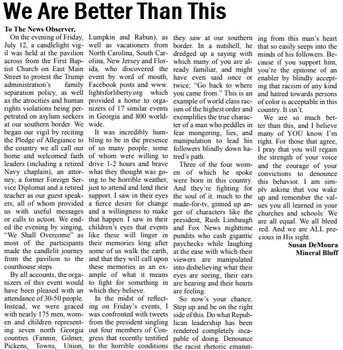 Susan DeMoura The News Observer July 31, 2019