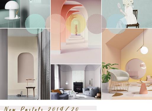 Noile pasteluri : Trenduri cromatice 2019/2020