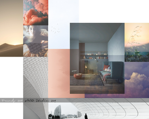 Curente de stil in 2019: sustenabilitate, designul biofilic(apartenenta la natura), well-being, culori definite, grafisme si transparente. @MCD Studio, 2019