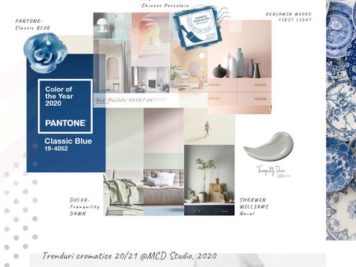 Noile culori: Trenduri cromatice 2020/21
