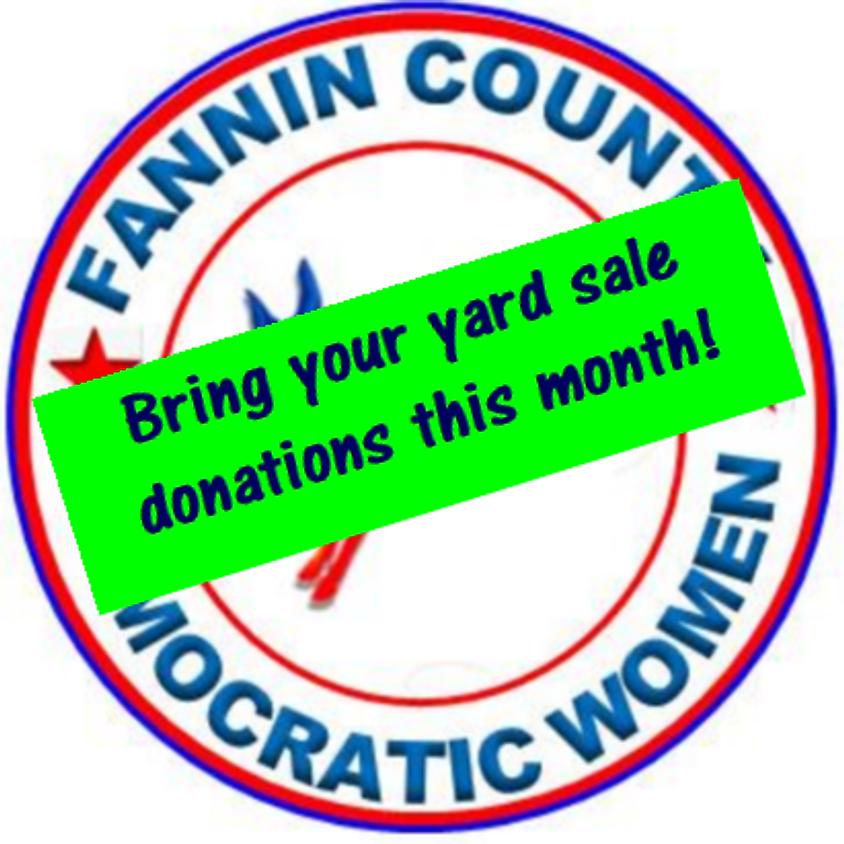 February Fannin County Democratic Women's Meeting