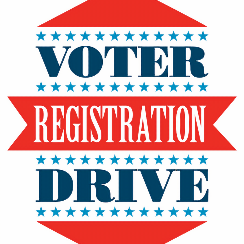 Voter Registration Drive at Arts in the Park