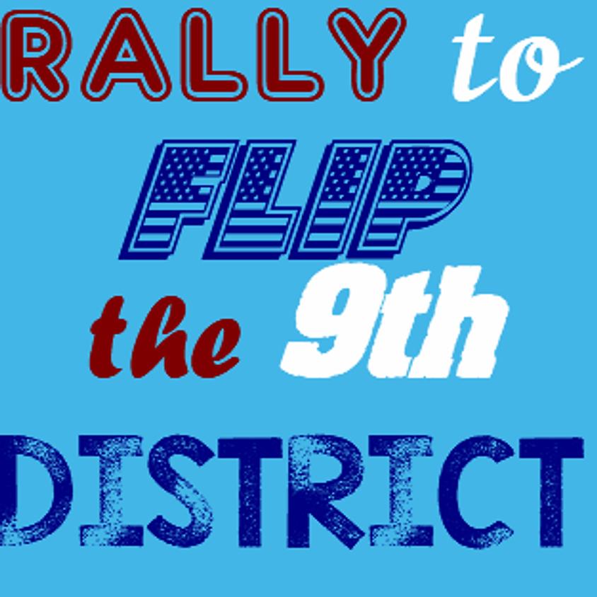 Flip the 9th Organizing Rally