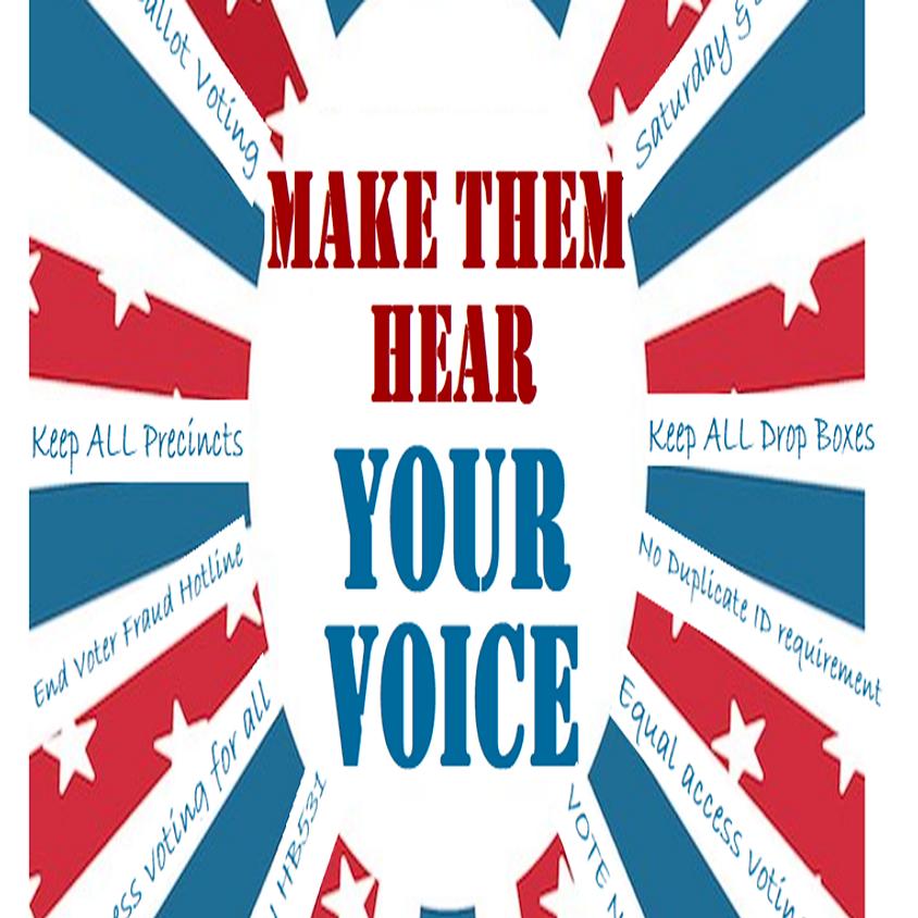 Make Them Hear Your Voice-Speaker David Ralston Office Visit