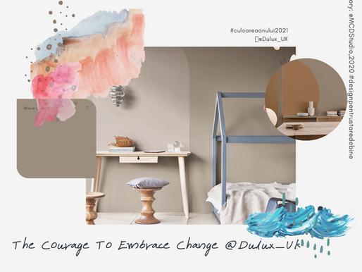 Noile culori: #culoareaanului2021 în viziunea Dulux