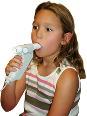 Lung function test child spirometry