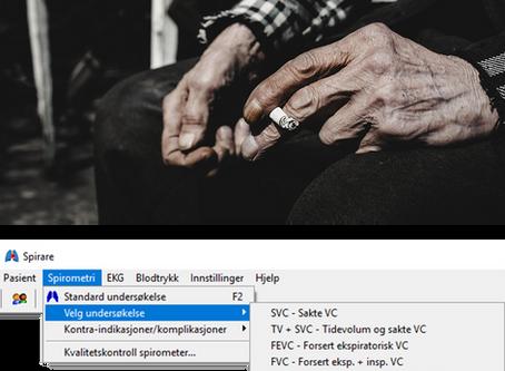 Enklere oppfølging av KOLS-pasienter i nyeste versjon av Spirare