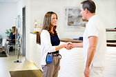24-hour blood pressure doctor patient shaking hands