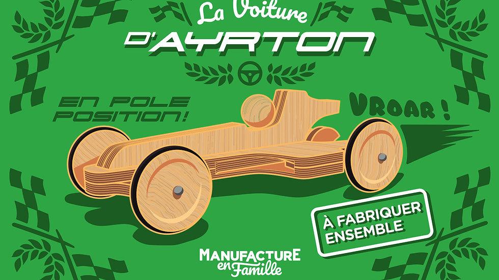 La voiture d'Ayrton