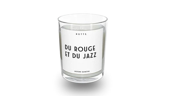Bougie Du Rouge Et Du Jazz