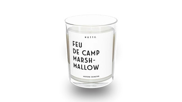 Bougie Feu de Camp Marshmallow