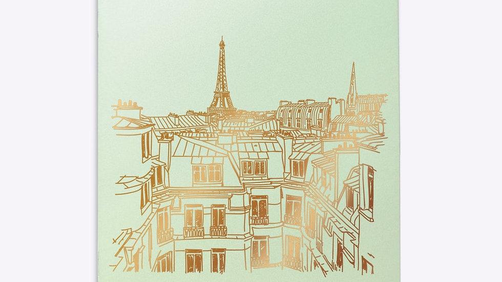 """Cahier Ligné """"Toits de Paris"""""""