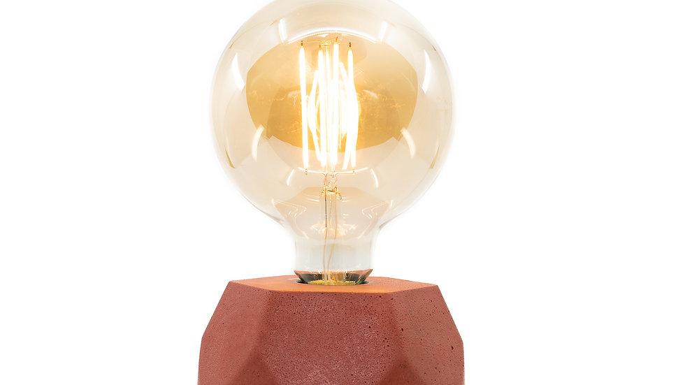 Lampe Béton Hexagone Terra Cotta