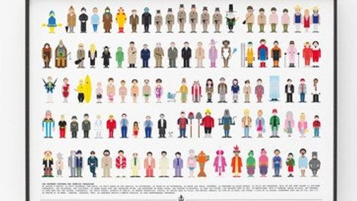 Affiche - Vestiaire des célèbres films comiques