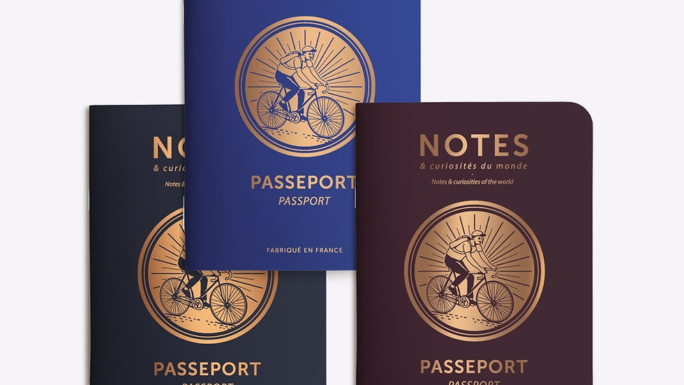 """Trio Petits Carnets """"Passeport Cycle"""""""