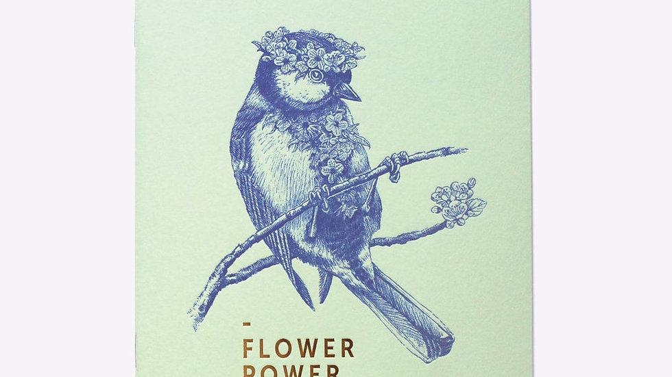 "Cahier Ligné ""Flower Power"""
