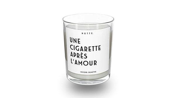 Bougie Une Cigarette Après L'Amour