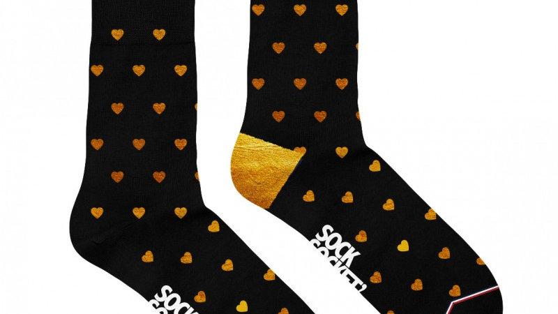 Chaussettes Coeur Doré
