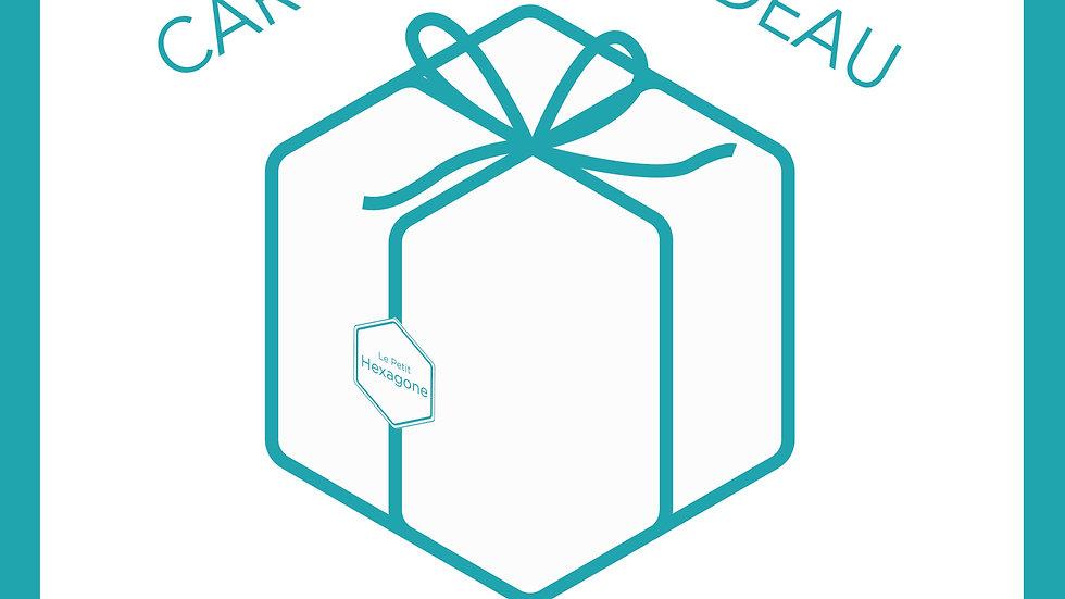 Carte Cadeau  - Le Petit Hexagone -  de 50 euros