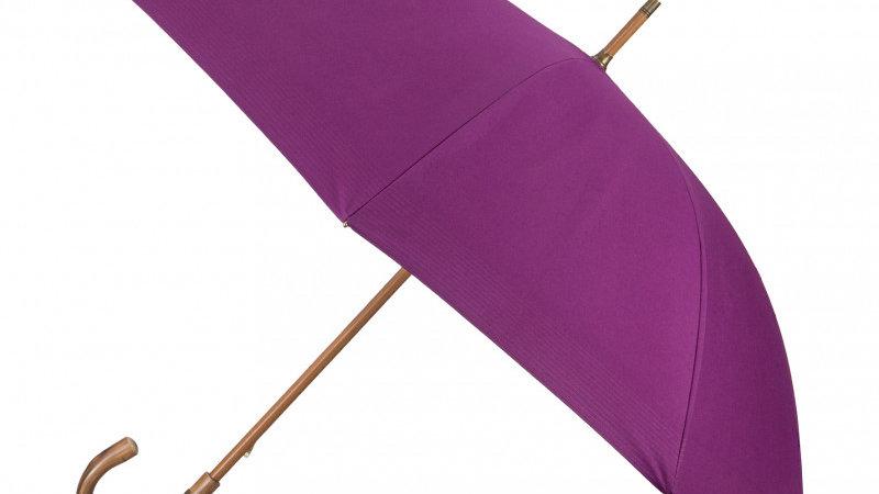 Parapluie Tradition Aurillac Femme Lie de Vin