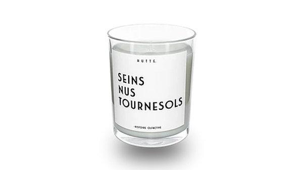 Bougie Seins Nus Tournesols
