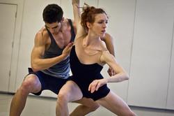 """Bacchae"" rehearsal with Morgan Lugo"