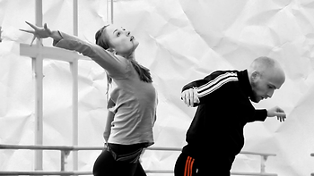 Chloe Felesina and Colby Damon of BalletX