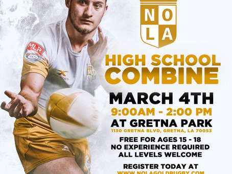 NOLA Gold High School Combine
