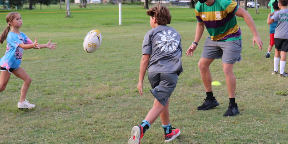 Youth Rugby at Halftime of NOLA Gold v Old Glory DC - March 20