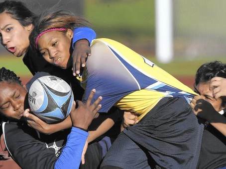 """Charter schools see rough sports as a way to increase girl's confidence"""