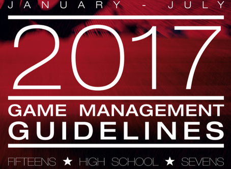 New 2017 Game Management Guidelines