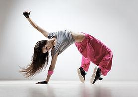 breakdancing in pink pants