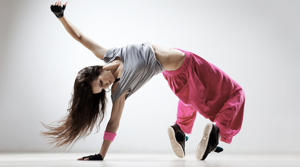 breakdancing in pink pants