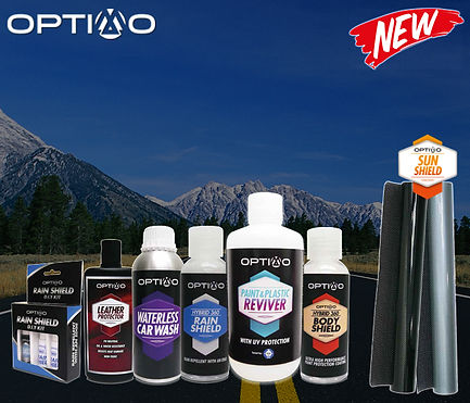 Optimo Car Care products