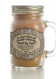 Smell My Nuts Large Mason Jar Candle