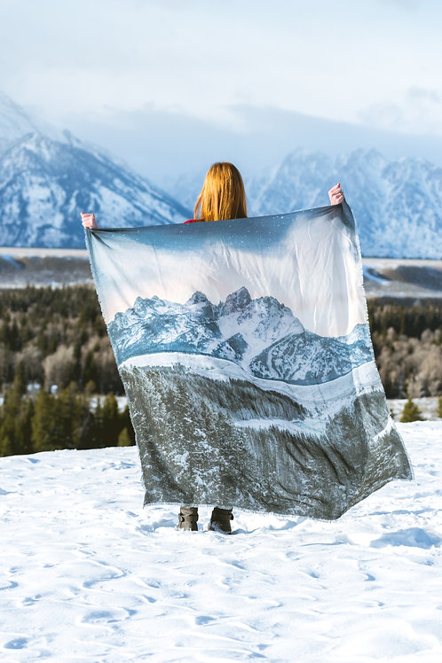 Teton Scarf- Snake River Overlook