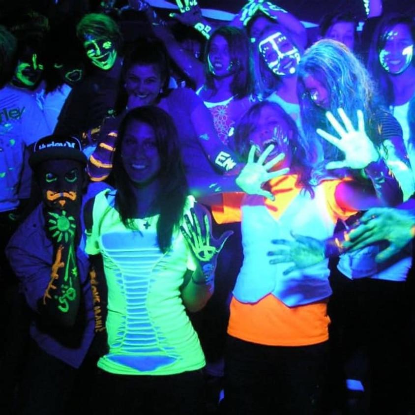 Glow in the Dark Halloween Dance Party