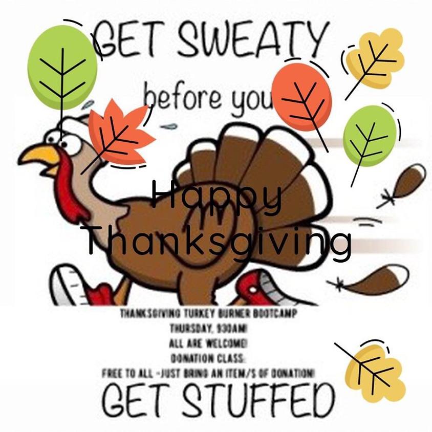 Thanksgiving Turkey Burner Bootcamp
