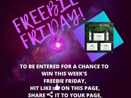 #FreebieFridayFrenzy