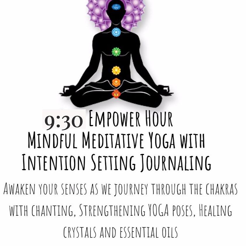 Empower Hour Meditative Yoga-7 Week Journey through the Chakras