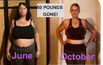 50 pounds lost