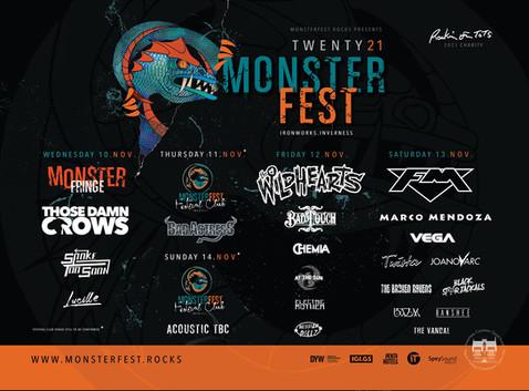 Monsterfest 2021 confirmed - Scotland get ready!