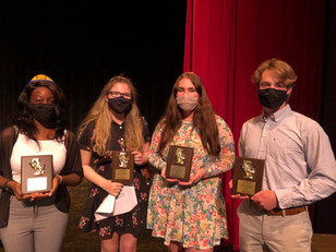 4 ACF Theatre Students win Awards