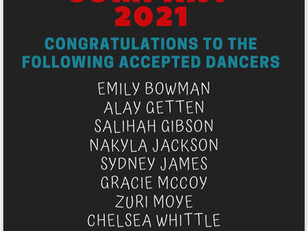 Congratulations To New Members of the Richland 1 District Honor Dance Company
