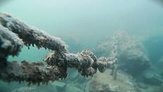 Underwater Chain Inspection - Blueye Pro