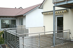 Schosserei - Heim - Reilingen -Geländer- Hoftore - Zäune - Stahl - Vordächer - Treppen