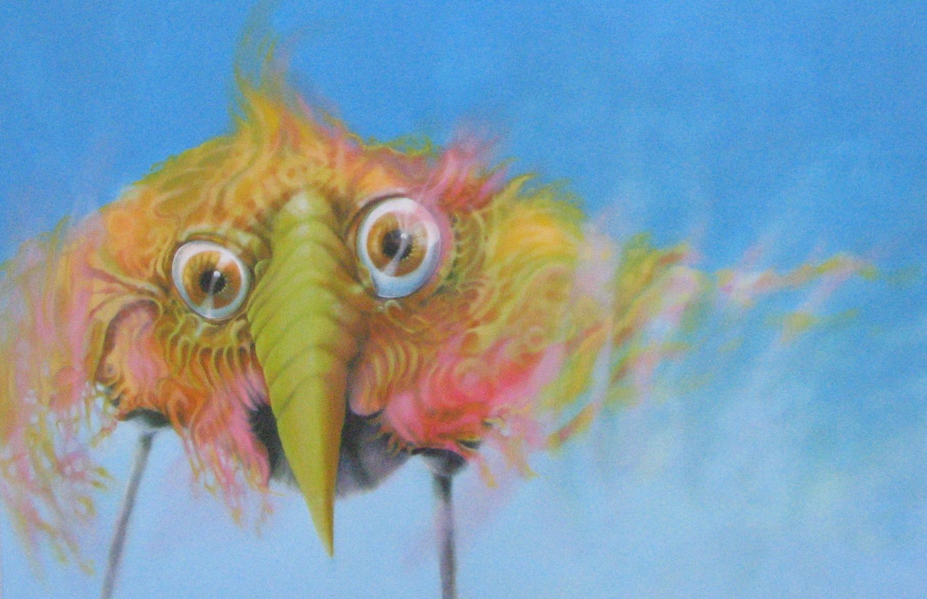 L'oiseau bonheur