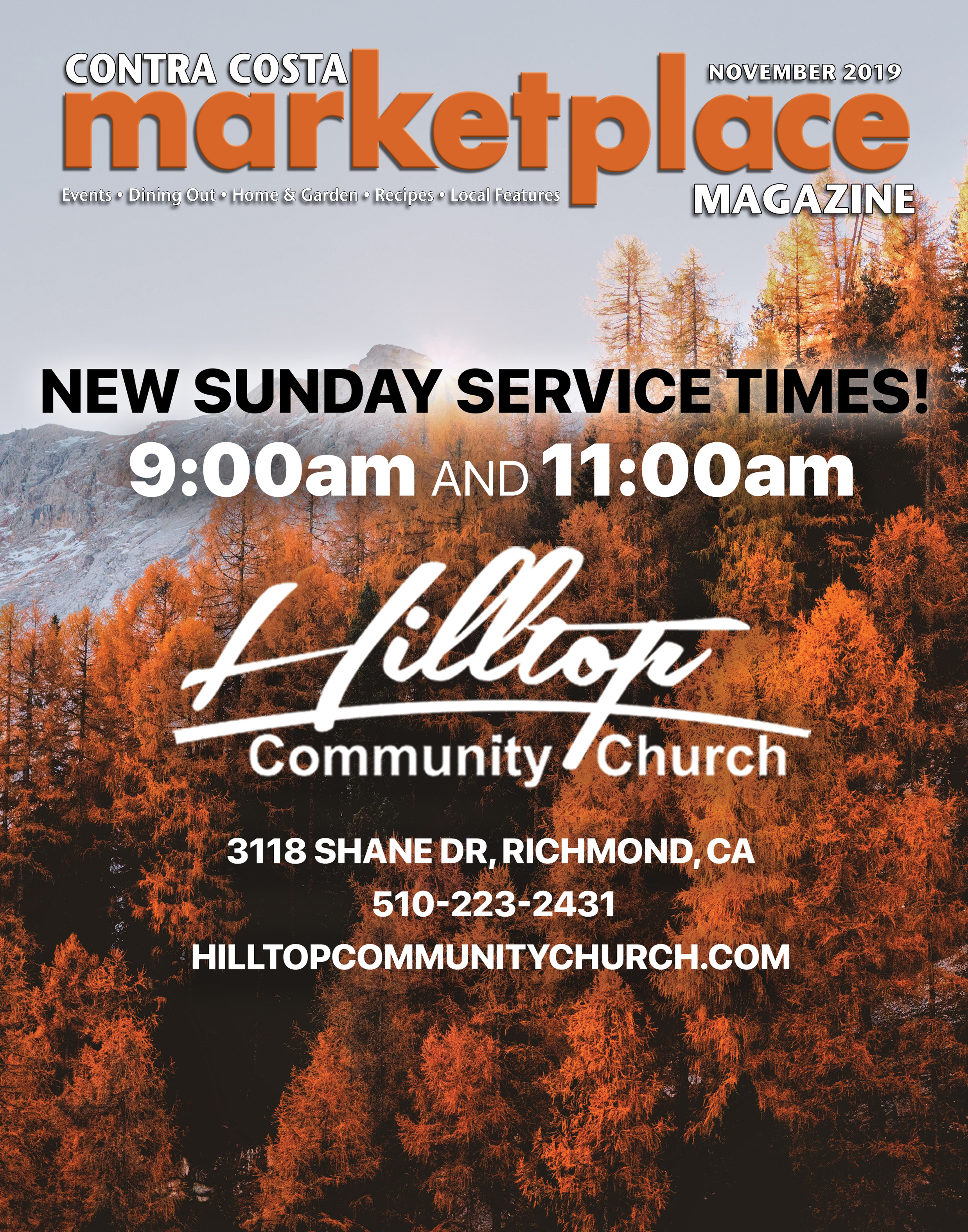 Hilltop C Church Cover 1119HR