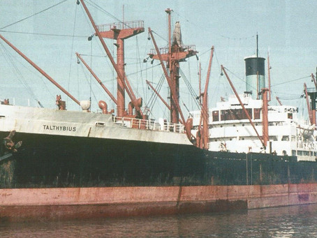 SS Talthybius 1944 to 1971